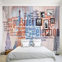 8 Photos Wholesale Paris Wallpaper For Bedroom   Feifan D Hand Painted Paris  Tower Large Scale Mural European