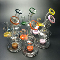dab rig glasss bongs water pipes heady pipe small bubbler 6 ...