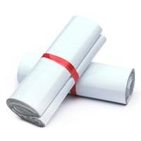 Gute Qualität 28x42 cm Weiß Mailer Taschen selbstdichtend Mailbag Kunststoff Umschlag Kurier Post Mailing Taschen Selbstklebende Express Polybeutel 50 stücke