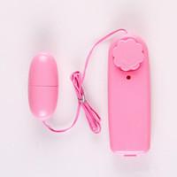 Adulte Sex Toys pour Femmes avec OPP sac Vente Chaude Rose Unique Sauter Vibrateur D'oeuf Bullet Vibrateur Clitorial G Spot Stimulateurs