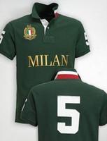 Diseño de moda Big Horse Polo Camiseta Hombres Algodón Berlín Milán Nueva York Tokyo Paris T Shirt Mens City Shirts Camisetas Ocio