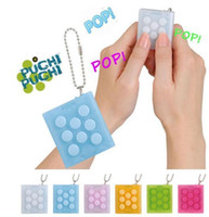 Puchi Keychain Electronic Bubble Wrap Keychain Squeeze Anti ...
