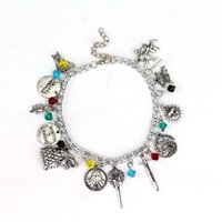 "Wholesale- Game of Thrones Charm Bracelet Pendant "" Wint..."