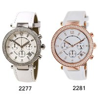 Luxury fashion New Unique Women Leather Strap Quartz Watch N...
