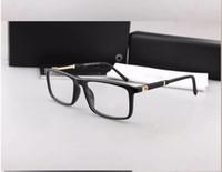 패션 금속 장식 안경 브랜드 디자이너 럭셔리 안경 프레임 근시 안경 프레임 클리어 렌즈 MB0541