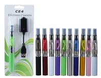 Kit CE4 ego starter CE4 Cigarro Eletrônico Blister kits e cig 650 mah 900 mah 1100 mah EGO-T blister bateria Clearomizer E-cigarro DHL