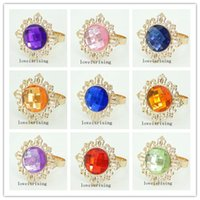 22 Colors UPick- - 100PCS Lot Fashion Beautiful Acrylic Gem Go...