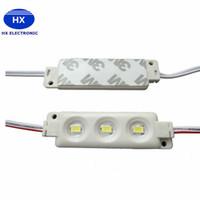 الإضاءة الخلفية LED وحدات حقن البلاستيك ABS 1.5W RGB بقيادة وحدات ماء IP65 3LEDS 5050 5630 بقيادة اجهة المخزن الضوء