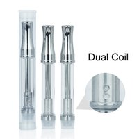 .5ml 1ml Vaso in vetro puro estratto CPA3 Gocciolatoio in metallo rotondo Ugello atomizzatore concentrato di olio Ce3 Vaporizzatore per esmarrt LO Preriscaldamento batteria 510