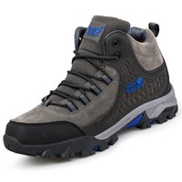 WOLFCRAW Men winter autumn hiking boots males walking boots ...