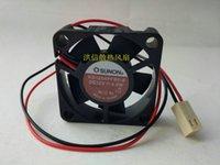 Frete Grátis Original SUNON 40 * 40 * 10 MM 4 cm 12 V 0.6 W KD1204PFB2 mudo ventilador de refrigeração