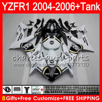 8Gift 23Color Body For YAMAHA YZF1000 YZFR1 04 05 06 YZF- R10...