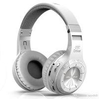 سماعات سماعة بلوتوث لاسلكية الأصلي Bluedio HT قوي باس ستيريو v4.1 للالإفراط في الأذن مع هيئة التصنيع العسكري لأجهزة الهواتف المتحركة الذكية اي فون المحمول