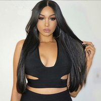 Full Lace Human Hair Wigs Brazil Virgin Hair 100% Straight S...