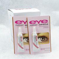 2016 глаз ресниц клей черный белый макияж клей водонепроницаемый накладные ресницы клей Клей белый и черный доступны DHL бесплатная доставка
