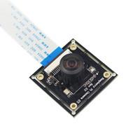 Freeshipping Raspberry Pi Camera Module OV5647 Occhi di pesce fotocamera grandangolare per il modulo telecamera monitoraggio campanello Casa intelligente fai da te