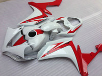 Injectie Molding Top Selling Fairing Kit voor Yamaha YZF R1 07 08 White Red Backings Set YZFR1 2007 2008 OT17