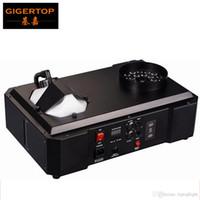 1500W DMX LED Fog машина Pyro Вертикальная машина дыма / Professional Fogger Для сценического оборудования DMX 512 Wireless Control 24 х 3W RGB
