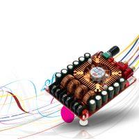 Freeshipping yükseltme yüksek güç dijital amplifikatör kurulu çift kanal ses stereo amplifikatör desteği BTL modu mono 220 w 2 * 160w TDA7498E