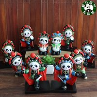 Sichuan Chengdu panda souvenir panda Sichuan Opera Face tavolo studio all'estero ornamenti desktop artigianato regali