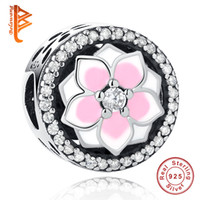 BELAWANG Fit Original Pandora Charms Bracelet 925 Sterling S...
