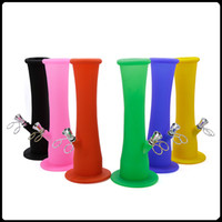 Silicone water pipes 22. 5cm Length Silicone Bongs smoking pi...