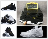 4s Classic 4 royalty pure money black bred white cement men ...