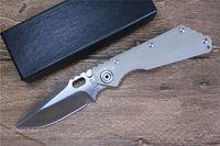 Miker strider knivar 8Cr13wov blad G10 + stålhandtag vikkniv för utomhus EDC verktyg camping vandring fiske jaktkniv, gratis frakt