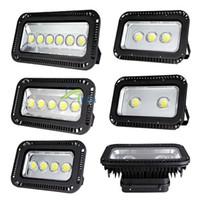 DHL LED 투광 조명 방수 200W 300W 400W 500W 600W 슈퍼 밝은 LED 홍수 빛 RGB LED 홍수 캐노피 조명 주유소 조명 666