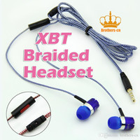 4colors XBT braided headset In- Ear Earphone for huawei mate ...