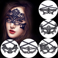 Masquerade Mask NEW Sexy Female Lace Hollow Flower Party Mas...