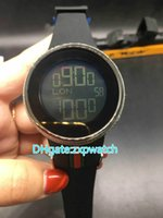 AAA Luxury 44mm YA114207 Black Mens Custom Digital Custom Lu...