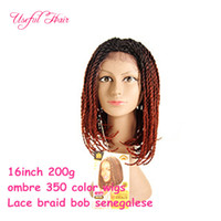 synthetic lace front wigs barber shop marley braided lace fr...