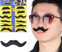 New Arrival 12 Pcs Costume Party Halloween Fake Mustache Mou...