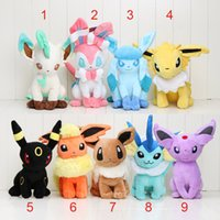 30cm Pikachu Plush toys Pikachu dolls Jolteon Umbreon Flareo...