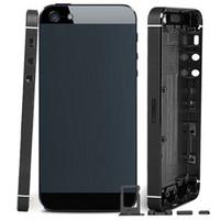 100 ٪ جودة كامل البطارية الغلاف الخلفي الإطار الأوسط الإسكان الخلفي للحصول على اي فون 5 5G ل iphone 5S غطاء البطارية الإسكان السفينة حرة
