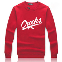 Fashion autumn winter Hoodie Thick Hoody Crooks long sleeve ...