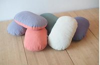 43x30cm solid funtional memory foam oval cushion car Japan s...