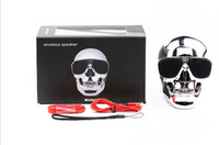 SKULL style Bluetooth Speaker Wireless Speakers with NFC fun...