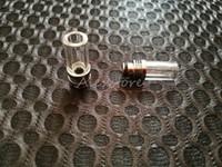 2 стиля Pyrex Glass из нержавеющей стали 510 наконечников для капель с длинным наконечником для капель мундштук с прозрачным наклонным отверстием для наконечника для RBA RDA Tape Vape