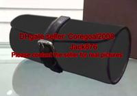 3 ووتش حالة m43385 مربع رجل مصمم المرأة الحقيبة الساعات السفر التبعي الزركشة الجلدية N41137 M47530 M32609 5 ألوان M32719 أسود