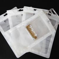 18 * 10см Пластиковые молнии сумка сотовый телефон мобильный телефон крышки случая упаковки Пакет Zip замок аксессуары наушника I6 мешок