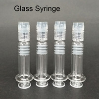 1ml Luer Lock Head Glass Syringe Glass Injector for Concentr...