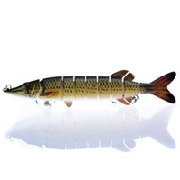 20cm 66g 1pcs Fishing Lures Lifelike 9- segement Multi Jointe...