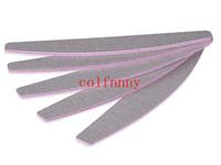 500pcs / lot Nail Art Salon Sanding Buffer Files carta vetrata di Pedicure del manicure del chiodo di Buffer lucidatura Slim Grit sandpapers CC2201
