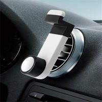Montagem prática do suporte do telefone móvel do respiradouro de ar do carro para acessórios espertos do telefone do telemóvel