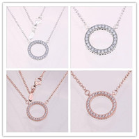 2020 New Authentic 925 Sterling Silver Necklace Link Chain O...