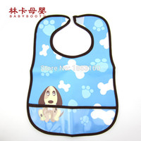 Wholesale- 2016 Hot Sale Baby Bibs Clothing Towel Children W...