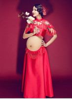 Maternity Photography Props Dresses Maternity Gown Photograp...