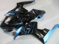 Injection molded free 7 gifts fairings for HONDA CBR1000RR 06 07 black blue fairing kit CBR1000RR 2006 2007 OT27
